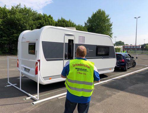 Nachtrag zur Deutschen Meisterschaft im Caravan- Geschicklichkeitsfahren