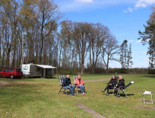 Pressebericht der Kreiszeitung – Staatshausen: Der idyllische Platz wäre startklar